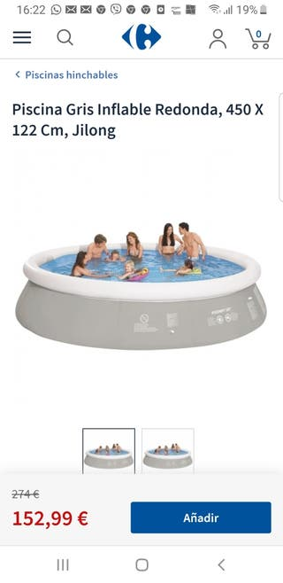 piscina inchable