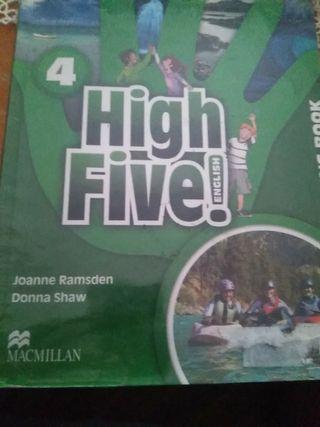 LIBRO INGLES 4° PRIMARIA HIGH FIVE ENGLISH