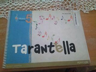 LIBRO MUSICA 5° PRIMARIA TARANTELLA