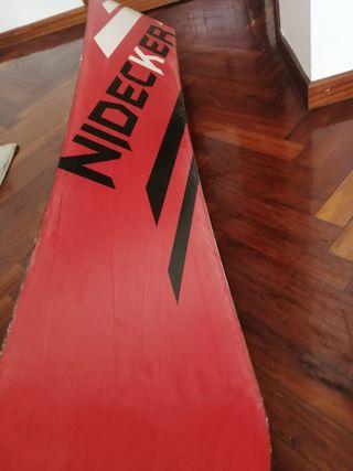 Tabla snow Nidecker y fijaciones Burton