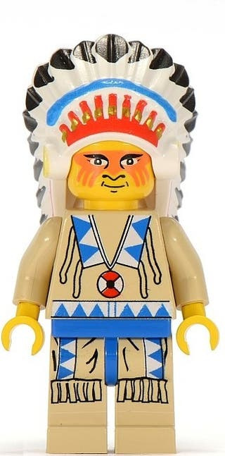 Lego Indian Chief 2 (5923)