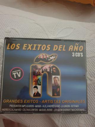 """3 CDS """"Ñ"""" los éxitos del año. 1999"""