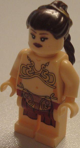 Compatible con Lego STAR WARS Princesa Leia esclav