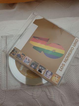 2 CD LOS NÚMEROS 1 DE LOS 40 PRINCIPALES