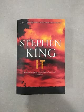 Libro It de Stephen King en Inglés