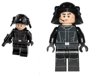 Lego STAR WARS Imperial navy trooper (75146)