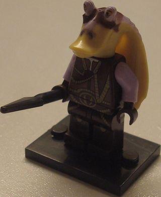 Lego compatible STAR WARS Captain Tarpals (75091)