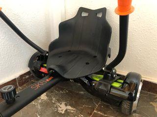 Patin electrico HoverBoard + silla Kart + factura