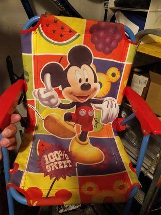 silla Mickey niño niña