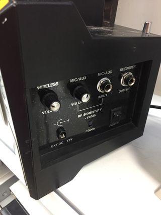 MINI AMPLIFICADOR FONESTAR ASH-20 20w