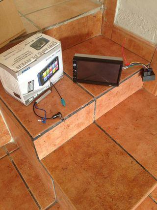 RADIO MP3+PANTALLA 7PULGADAS+MANDO A DISTANCIA+MP4