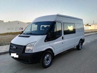 Ford Transit 350L 125 cv 6 PLAZAS +CAJON 2012
