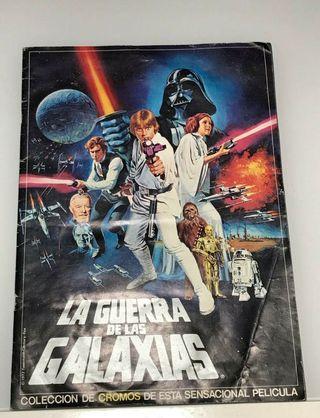Álbum de cromos La Guerra de las Galaxias