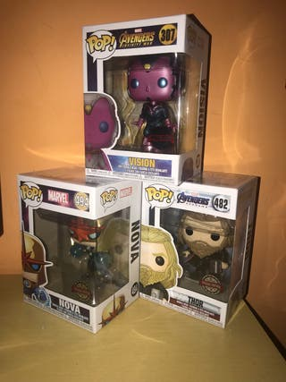 Pack Funko Pop Marvel Exclusivos