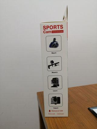 cámara deportiva cbx full HD. nueva