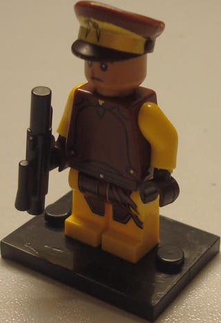 Lego compatible STAR WARS Naboo Security Guard (75
