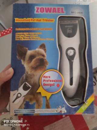 maquina corta pelos perro