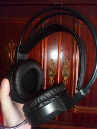 auriculares gaming con luces led sonido 7.1