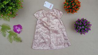 vestido de niña nuevo fiesta marca Minotti