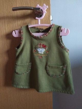 Vestido bebé 3meses