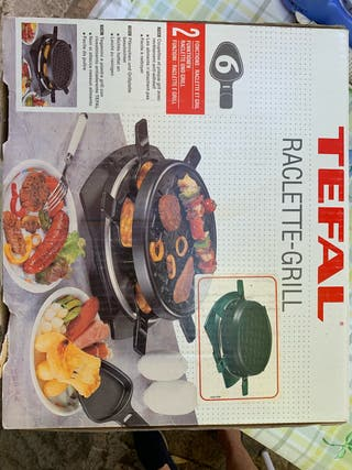 Plancha Raclette grill Tefal