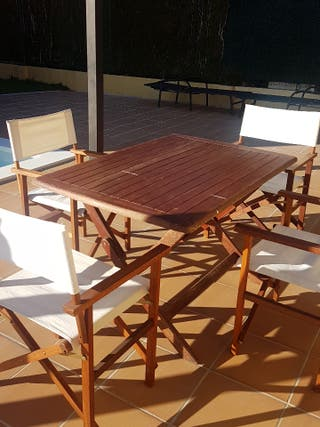 Mesa Jardin más 4 sillas