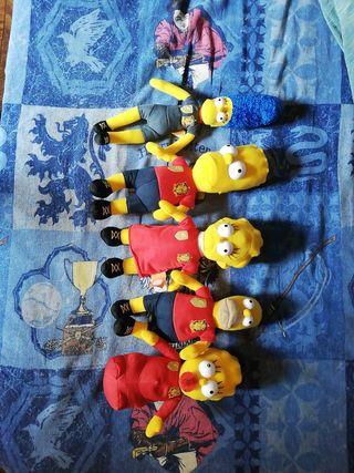Los Simpsons Selección Española 2010