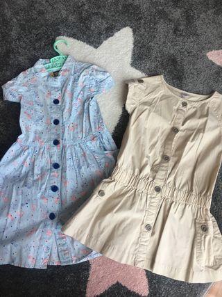 Lote de 2 vestidos talla 4 años