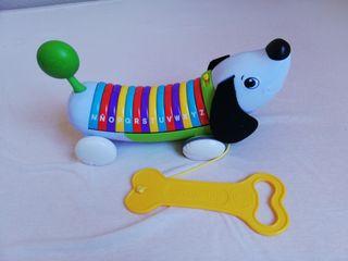 juguete perro abecedario