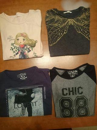 Camiseta manga larga niña 12 años