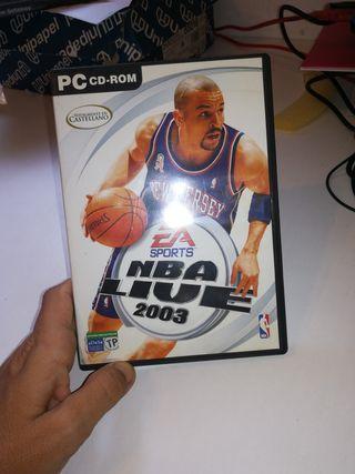 NBA live 2003 PC