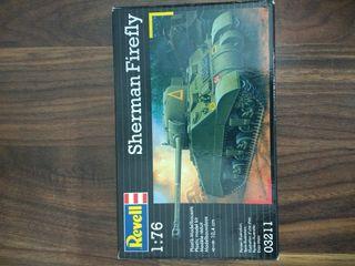Maqueta Tanque Anticarros Sherman 1/76 Revell