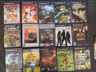 Juegos de la playstation 2 Baratos(Hay 3 fotos)
