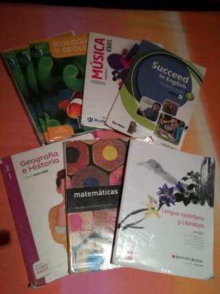 libros de texto 1 eso instituto el greco toledo