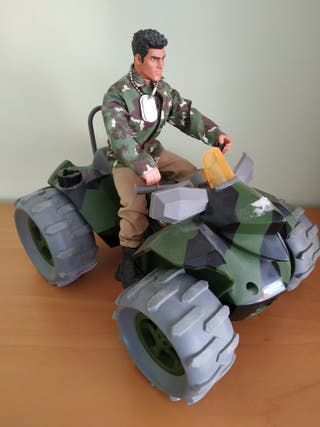 Action Man + Quad