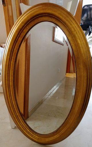Espejo Dorado Ikea