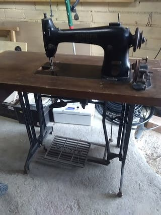 maquina coser antigua Singer