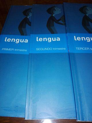 libros texto 3° Primaria Lengua SM