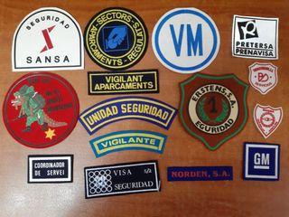 15 Emblemas Vigilante de Seguridad