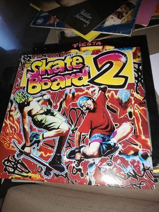 """Vinilo """"Skate board 2""""."""