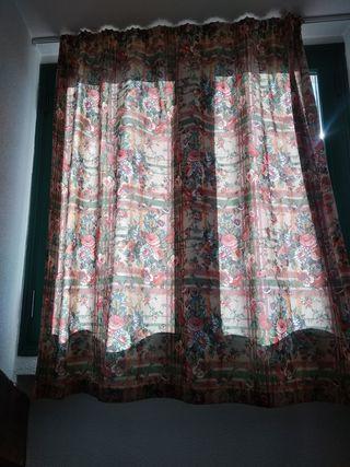 Sofá cama + cortinas a juego