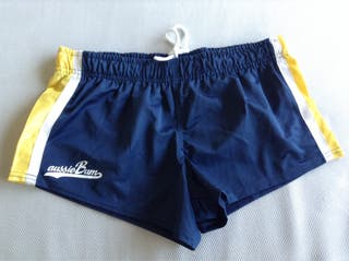 Pantalon corto deporte originales Aussiebum M azul