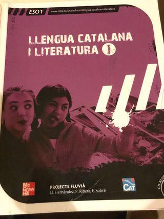 Libro de lengua catalana 1ro de la eso