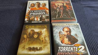 lote de peliculas dvd