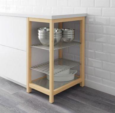 Mueble auxiliar de cocina Ikea almacenaje abierto de segunda ...