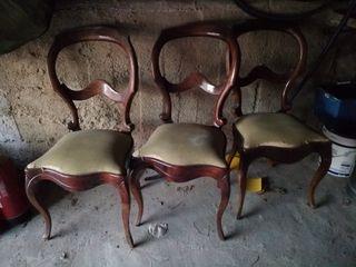 Sillas retro vintage