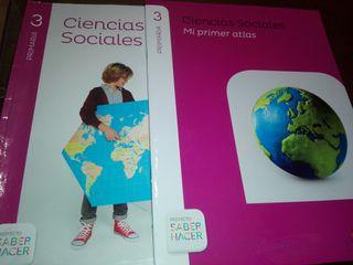 libros texto 3° Primaria Ciencias S. Santillana