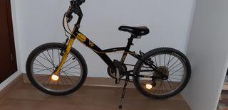 Bicicleta niño llanta 20 pulgadas