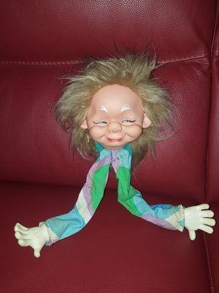 Muñeco perchero de los 70