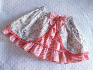 8166224d4 Falda de fiesta para niña de segunda mano en Madrid en WALLAPOP
